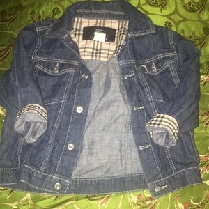 Burberry Kids Denim Jacket